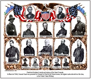 War Mouse Pad Union Generals
