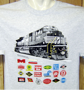 T-Shirt Norfolk Southern NEW