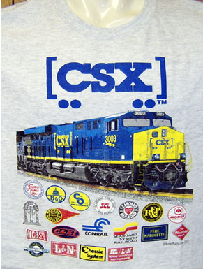 T-Shirt CSX NEW Heritage