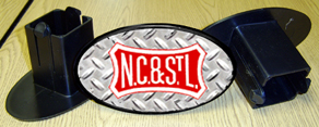 Hitch Cover NC&StL Logo
