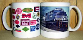 Coffee Mug NS Heritage Logos