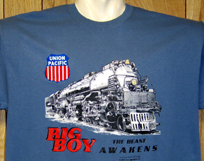 T-Shirt Big Boy 4014 Blue Tee