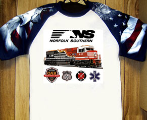T-Shirt Norfolk Southern 911 Special