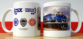 Coffee Mug CSX Spirit of Law