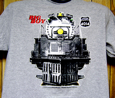 T-Shirt Big Boy FRONT Ash Tee