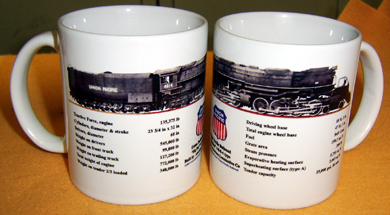 Coffee Mug Big Boy 4014 w/specs